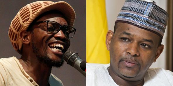 L'activiste Ras Bath et l'ancien Premier ministre malien Boubou Cissé.