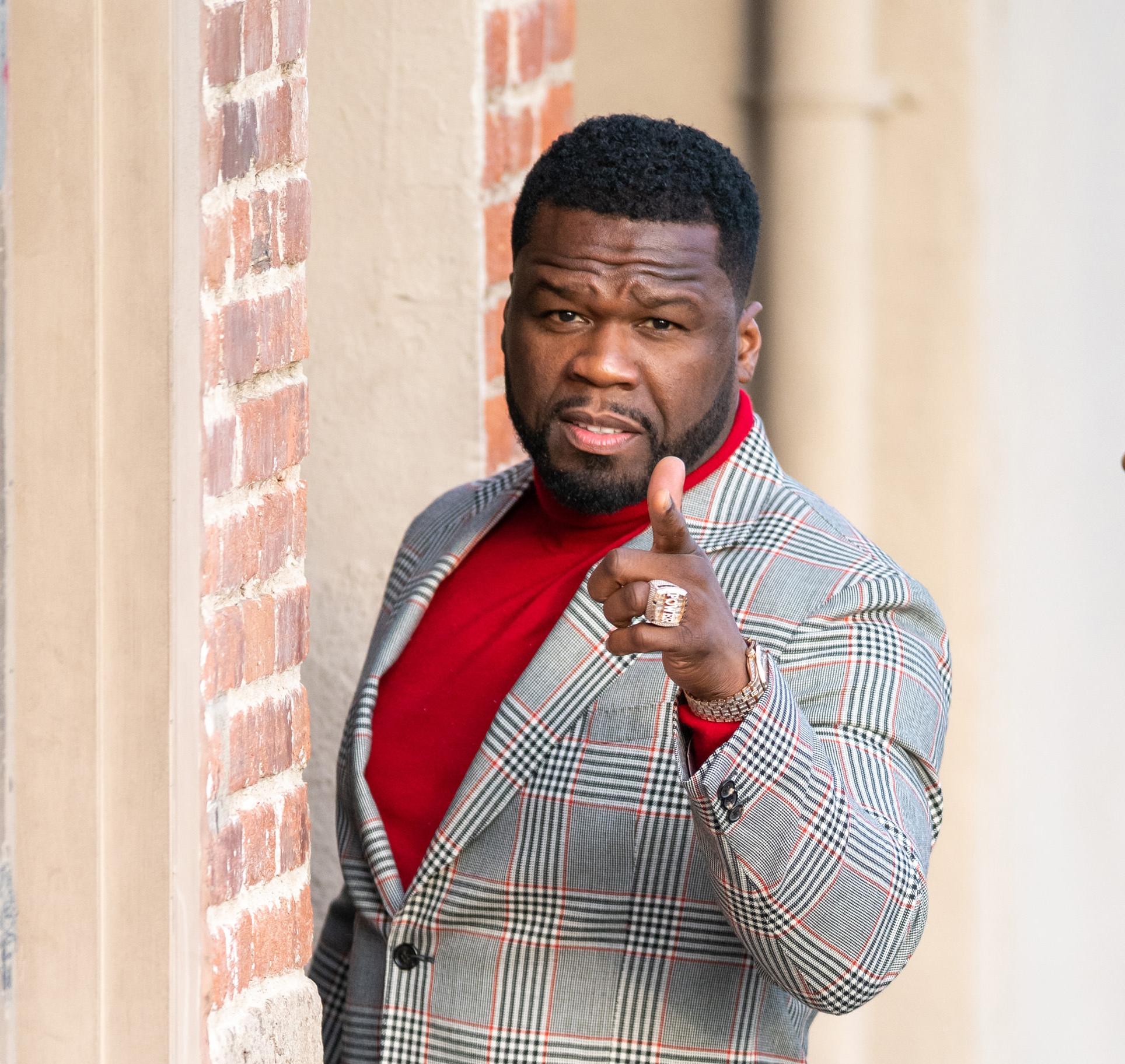50 Cent, le 30 janvier 2020, à Los Angeles.