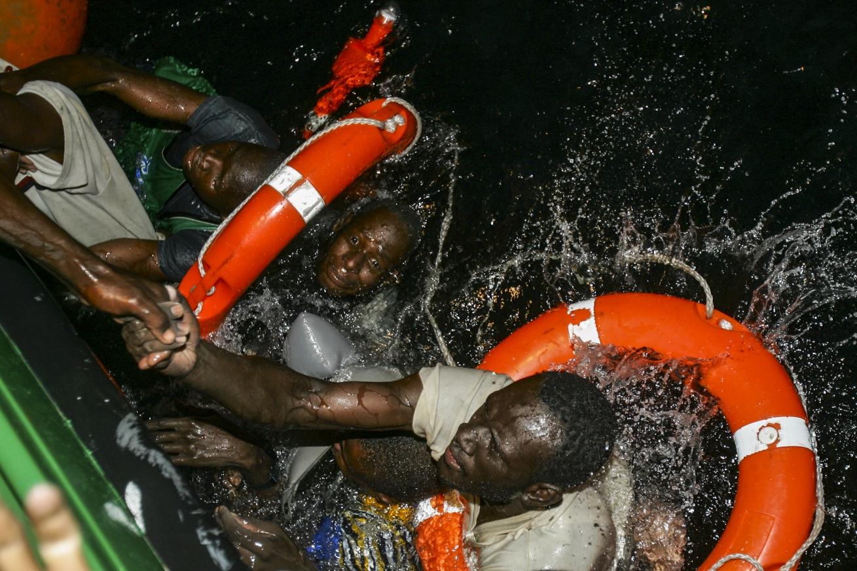 Au large de l'île de Fuerteventura, le 12 novembre 2004 (prix World Press Photo).