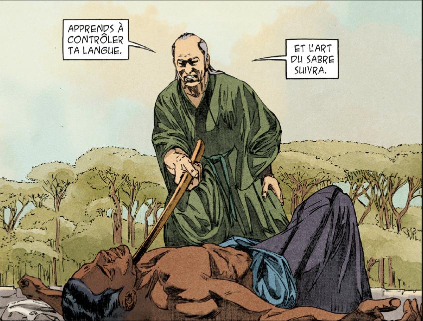 Extrait de «Kurusan, le samourai noir»