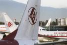 Des avions d'Air Algérie sur le tarmac de 'aéroport Houari-Boumédiene, le 6 décembre 2020