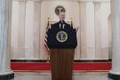 Joe Biden à Washington, le 22 février 2021.
