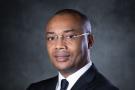Le ministre gabonais de la Santé, Guy Patrick Obiang Ndong.
