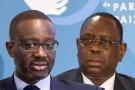 Tidjane Thiam (à g.) et Macky Sall (à dr.)