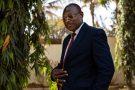 Eddie Komboïgo, le président du CDP, chez lui, à Ouagadougou, en février 2021.