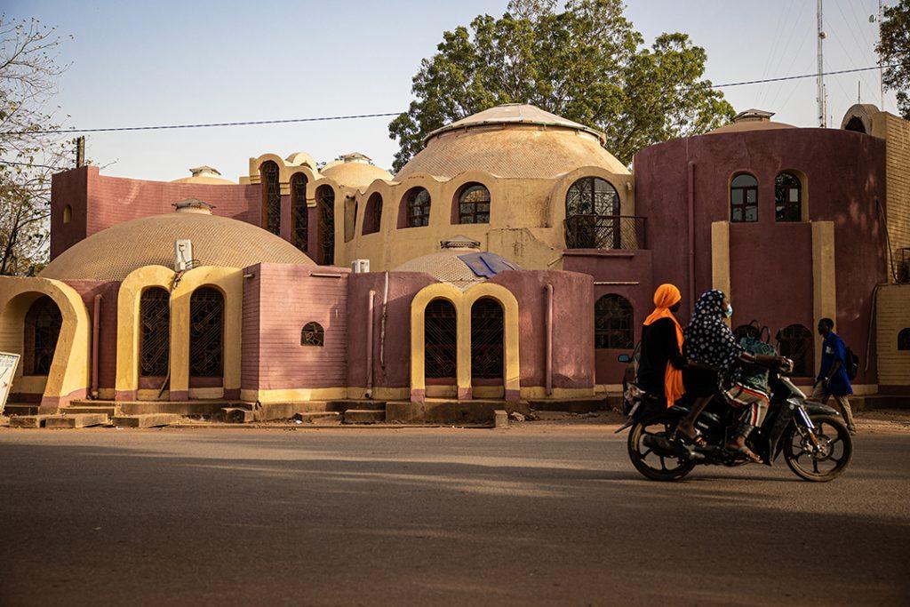 Le musée de la musique Georges-Ouédraogo, à Ouagadougou.