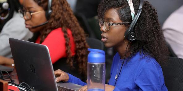 Service après vente de Jumia, à Lagos, en janvier 2020