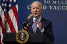 Joe Biden à Washington, le 25 février 2021