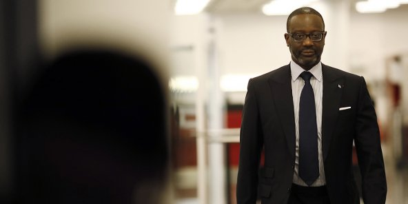 Tidjane Thiam, le 13 février 2020.Weigh on Results