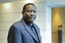 Hama Amadou, ancien Premier ministre du Niger, le 13 janvier 2014 à Paris.