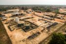 La station de pompage de Kinkazi de Perenco, près de Muanda, en RDC.