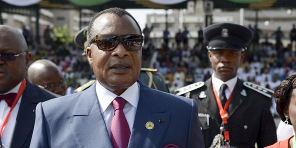 Denis Sassou Nguesso, en mai 2015.