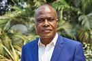 Martin Fayulu, candidat de l'opposition a l'élection présidentielle de 2018, le 12 juillet 2019 à Kinshasa.