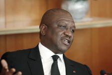 Le Premier ministre ivoirien, Hamed Bakayoko (ici en janvier 2016), est décédé le 10 mars 2021.
