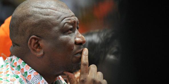 Le Premier ministre ivoirien Hamed Bakayoko (ici le 22 mars 2015 à Abdijan), est décédé le 10 mars 2021.