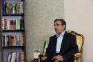 L'ancien président Mahmoud Ahmadinejad, à Téhéran, en septembre 2019.