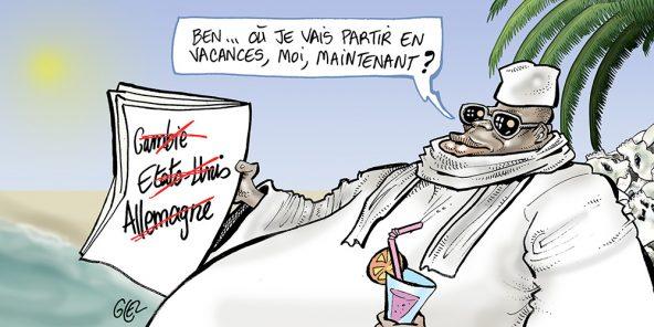 L'un des agents de Yahya Jammeh a été arrêté en Allemagne. Il est notamment soupçonné d'avoir participé au meurtre du journaliste Deyda Haydara.