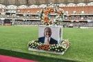 Un portrait d'Hamed Bakayoko, au grand stade d'Abidjan, mercredi 17 mars.