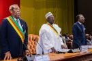 Lors de la prestation de serment des membres du Conseil constitutionnel au Cameroun en 2018 (illustration).