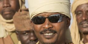 Le général Mahamat Idriss Deby, fils du défunt président tchadien.
