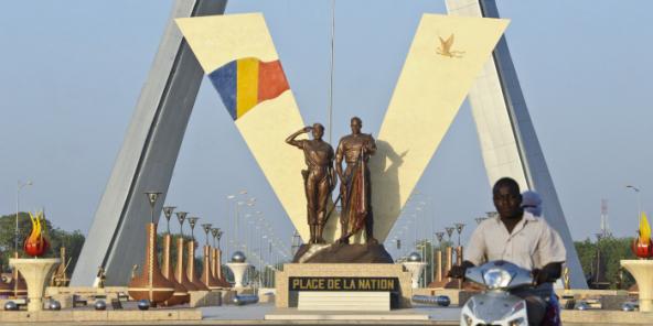 La Place de la Nation, à N'Djamena, en 2011.