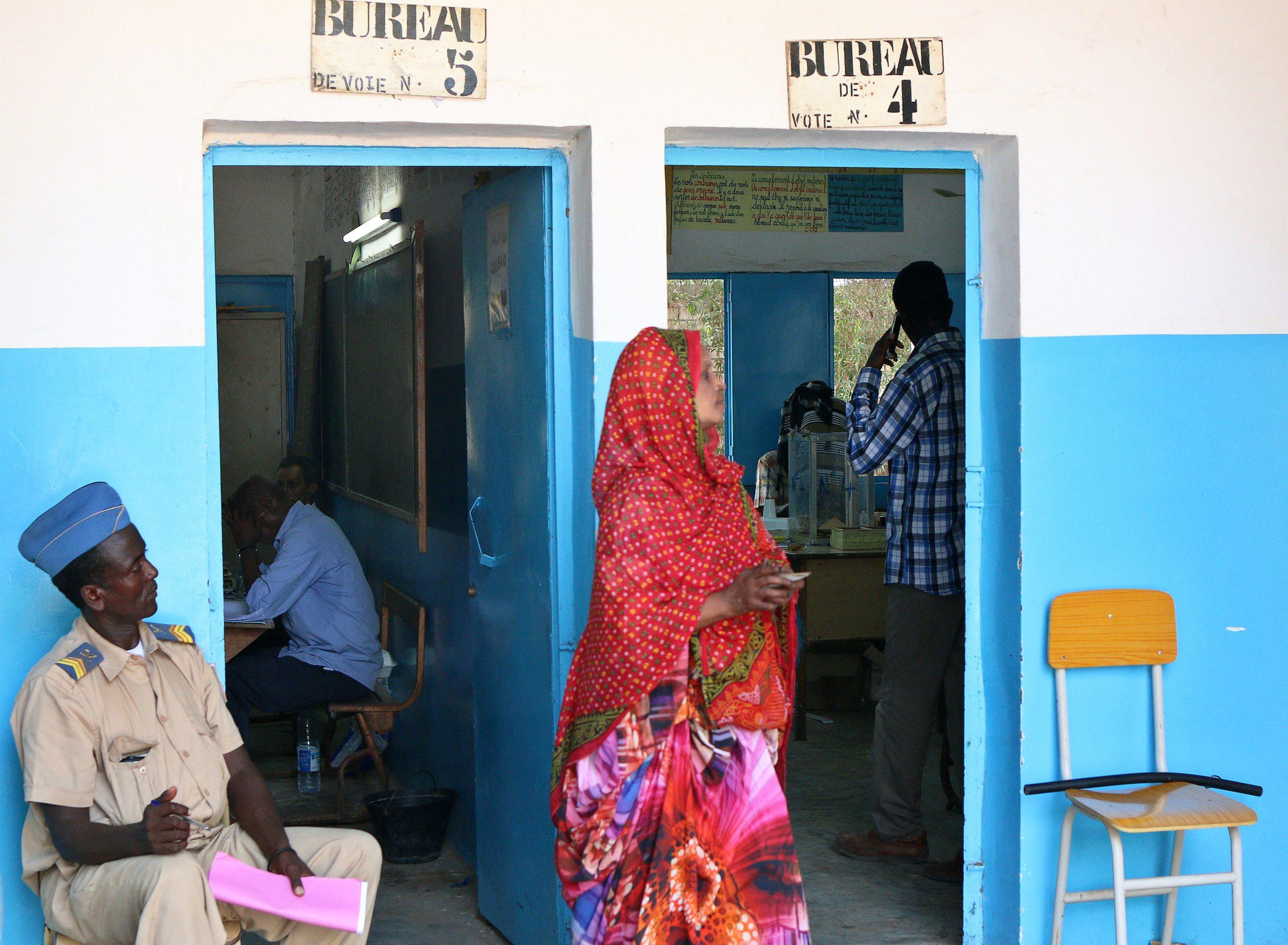 Lors du précédent scrutin présidentiel à Djibouti, le 8 avril 2016.