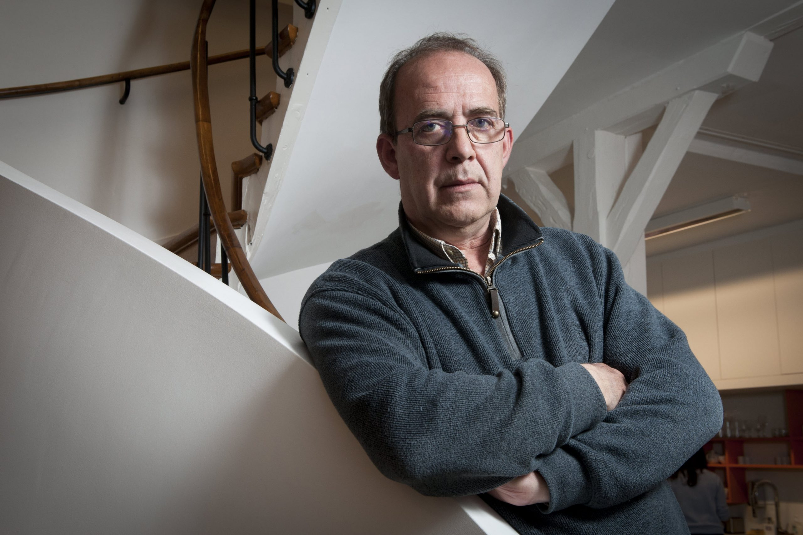 Le journaliste Patrick de Saint Exupéry, auteur de «La Traversée» et fondateur de la revue «XXI»., à Paris, le 10 mars 2021.