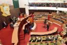 Une vue générale de l'Assemblée nationale ivoirienne lors de l'élection de son nouveau président, le 7 mars 2019, à Abidjan.