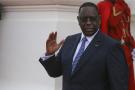 Le président sénégalais, Macky Sall, à Dakar le 28 janvier 2020.
