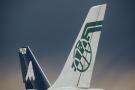 Appareil Air Afrique à l'aéroport de Roissy