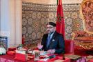 Le roi Mohammed VI préside un Conseil des ministres au Palais de Rabat.