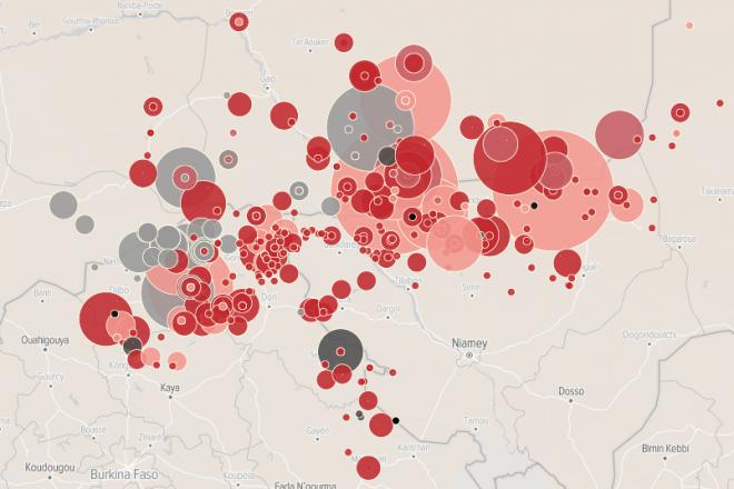 [Infographie] Niger, Mali, Burkina : la stratégie de Barkhane a-t-elle atteint ses limites?