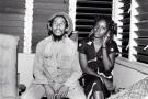 Bob Marley et Pascaline Bongo, dans les années 1980.