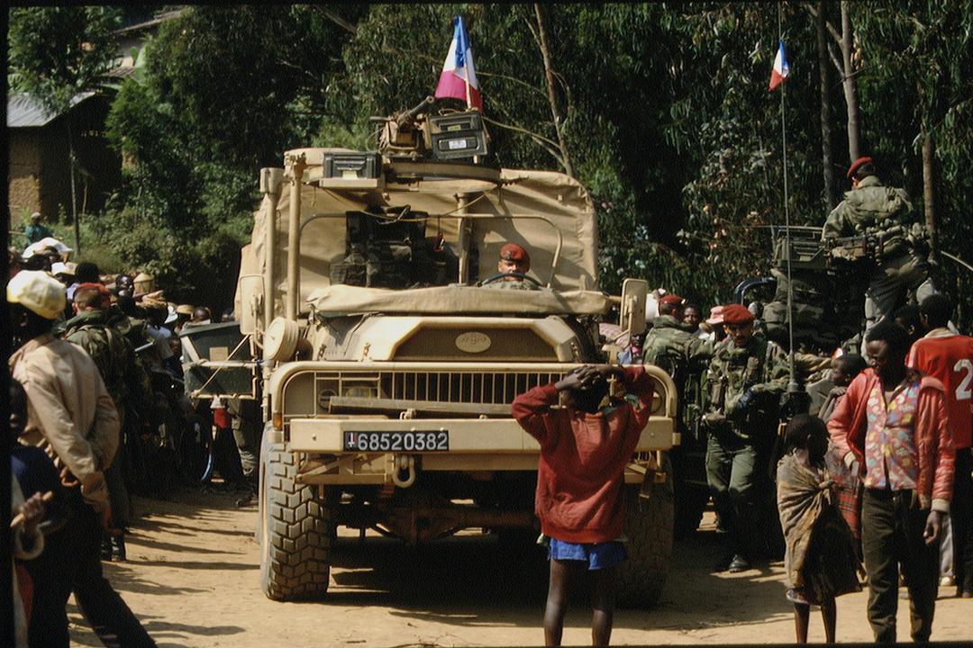 «Turquoise», une opération militaire française au Rwanda mandatée par les Nations unies.