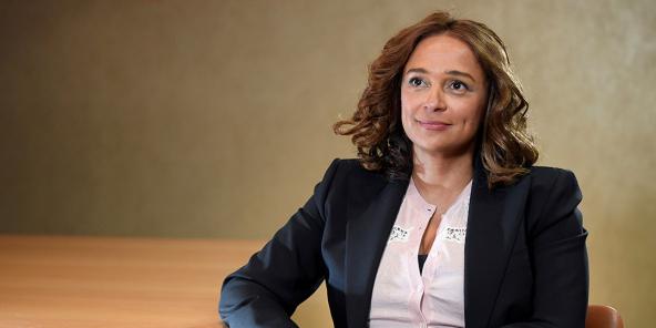 Isabel dos Santos à Londres, le 9 janvier 2020.