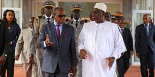 Alpha Condé et Macky Sall, à Dakar le 9 août 2015