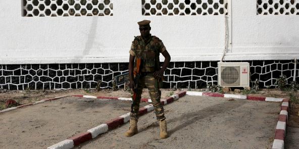 Un soldat nigérien à Niamey, en février 2016 (archives).