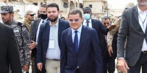 Le Premier ministre libyen Abdulhamid al-Dabaiba.