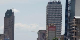 Gombe, le quartier d'affaires de Kinshasa.