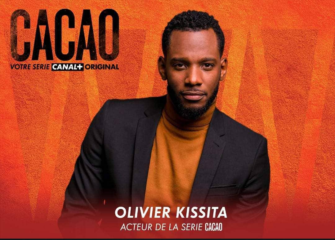 Olivier Kissita dans la série «Cacao».