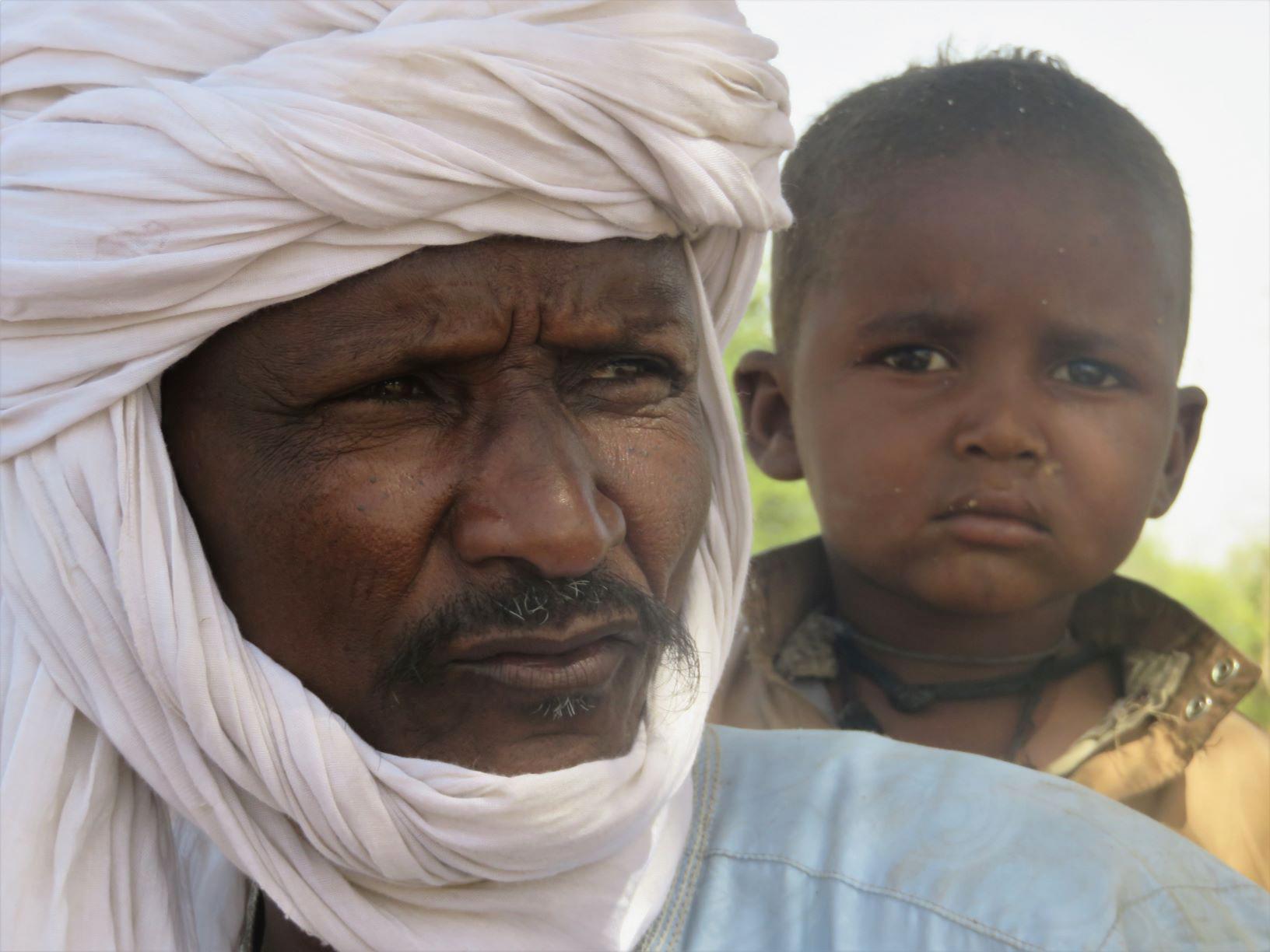 L'oncle Ahmad Aussul n'a plus que 7 bœufs. Son jeune fils ne sera pas nomade.