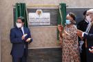 Le ministre marocain des Affaires étrangères, Nasser Bourita, et son homologue sénégalaise, Aïssata Tall Sall, inaugurent le consulat général du Sénégal à Dakhla, au Sahara occidental.
