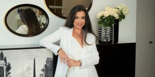 La designeuse d'intérieur franco-marocaine Rita Chraibi