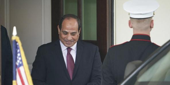 Abdel Fattah al-Sissi, le président égyptien, à Washington, le 9 avril 2019.