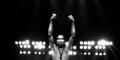 Fela Kuti à l'Orchestra Hall de Detroit (Michigan, États-Unis), le 7 novembre 1986.