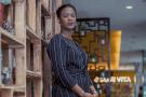 Salématou Sako, directrice associée de l'agence Sakom et secrétaire générale du Conseil national du patronat guinéen (CNPG).