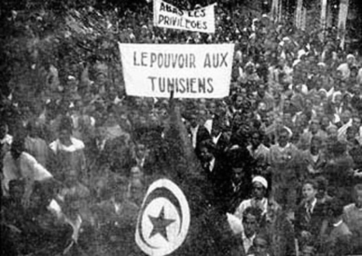 Manifestation pour la lutte nationale, le 9 avril 1938.