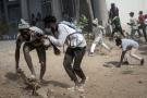 Affrontements entre des manifestants et la police après l'arrestation d'Ousmane Sonko, à Dakar, le 3 mars 2021