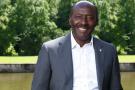 Henri-Claude Oyima, fondateur du Groupe BGFI Bank.