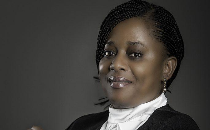 Huguette Oyini, directrice générale adjointe de BGFI Holding.
